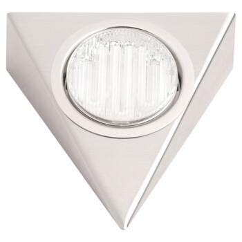 Mini-Circ Triangular Downlight Undershelf -  Stainless Steel