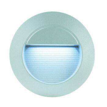 LED Wall Light - Recessed Round White LED IP65 16.8W - Aluminium Die Cast