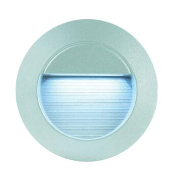 LED Wall Light - Recessed Round White LED IP65 16.8W - Aluminium Die Cast