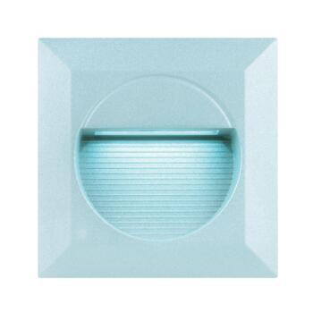 LED Wall Light - Recessed Square White LED IP65 16.8W - Aluminium Die Cast