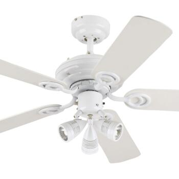"Westinghouse Ceiling Fan with Light - 72105-78534 - 42"" White"