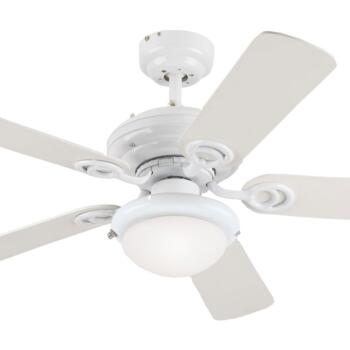 "Westinghouse Ceiling Fan with Light - 72105-78531 - 42"" White"