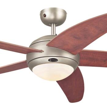 "Westinghouse Bendan Ceiling Fan with Light - 52"" Dark Pewter"