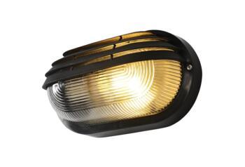 Puck Oval Eyelid Polycarbonate Bulkhead Light - Polycarbonate