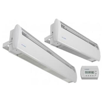 Consort Surface Mounted Wireless Air Curtain - 3kW 634mm Wide