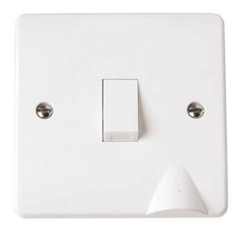 Mode 20A DP Switch - Optional Flex Out - White