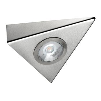Titon COB LED Under Cabinet Triangle Light - Cool white single light