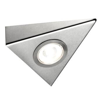 Titon COB LED Under Cabinet Triangle Light - Warm white single light