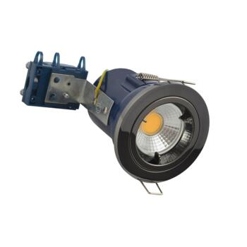 Black Nickel Fire Rated Downlight Fixed GU10 - Fitting