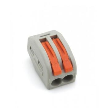 Spring Lever Cable Connector - 2 Terminal