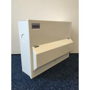Fully Loaded 12 Way Dual 80a RCD with 8 MCB's Amendment 3 Consumer Unit -