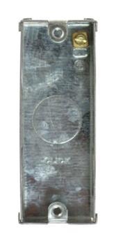 Mini Grid 1 Gang Architrave Backbox - 25mm Deep - 1 Gang Backbox