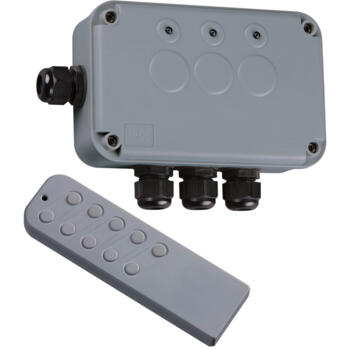 IP66 Remote Switch Box - 3 Gang