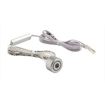 Surface/Recessed IP Rated On/Off Switch - Silver Finish