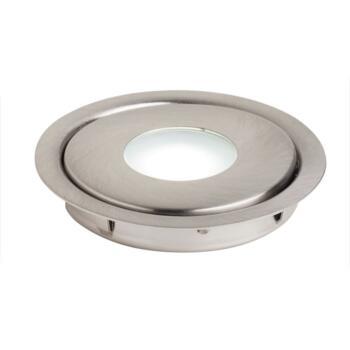 1w LED Recessed Bathroom / Shower IP67 Downlight - Warm White