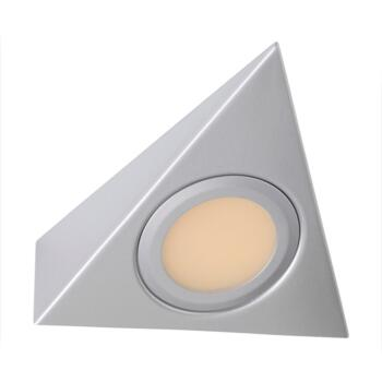 Mains Voltage Surface Triangle Downlight - 3000K