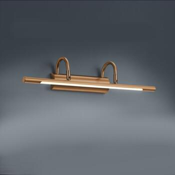 LED Picture Lamp - Antique Brass