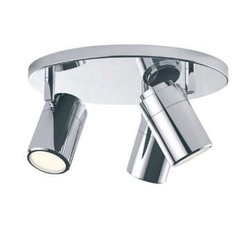 Bathroom Ceiling Plate Light  - Lucia Ceiling Plate Light