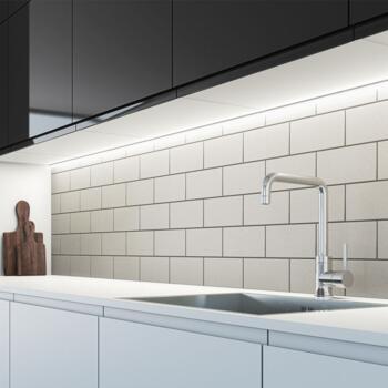 Arrow LED Continuous Strip Light - Warm White 300mm 4w