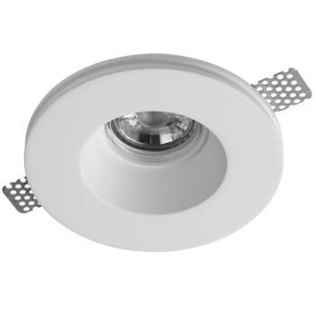 Plaster-In Trimless Recessed Baffled Downlight - GU10
