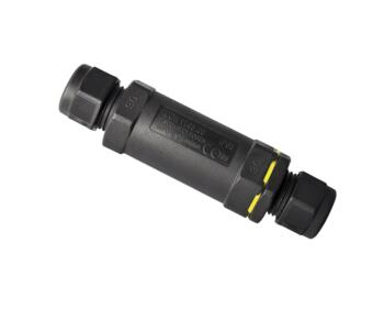 IP68 Cable Connector - 3 Pole In-Line Waterproof