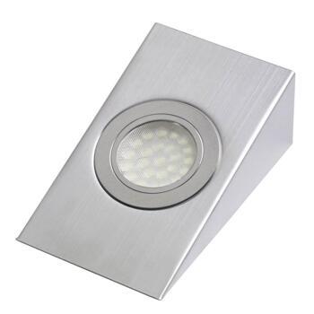 Wedge Undershelf LED Downlight - 1.6W 12V - 1 Fitting With Cool White LED