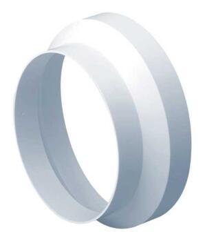 Circular Ventilation Ducting Reducer / Adaptor  - 125mm to 100mm
