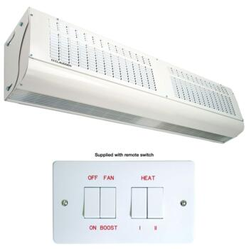 Screenzone Consort Over Door Air Curtain Heater - 9kW