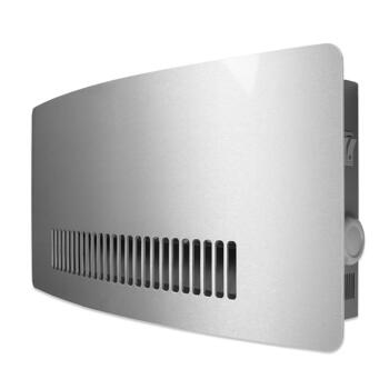 Consort Chelsea Wall Mounted Fan Heater -Aluminium - 3kW Wireless Controlled